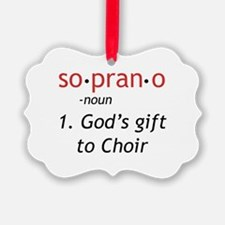 Soprano Definition Ornament