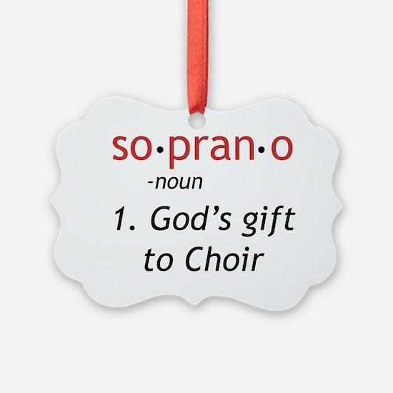Soprano Definition Ornament