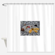 Imagine Strawberry Fields NYC Shower Curtain