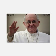 pope francis Rectangle Magnet