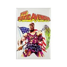 Toxic Avenger Rectangle Magnet