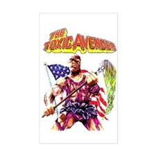 Toxic Avenger Rectangle Decal