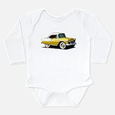 BabyAmericanMuscleCar_55BelR_Xmas_Yellow Body Suit