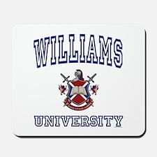 WILLIAMS University Mousepad