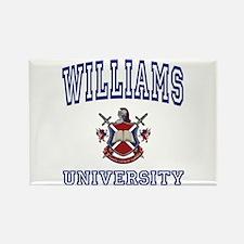 WILLIAMS University Rectangle Magnet