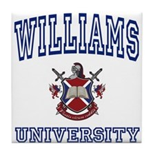 WILLIAMS University Tile Coaster