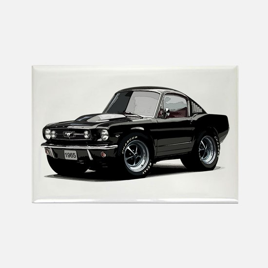 abyAmericanMuscleCar_65_mstg_Xmas_Black Magnets