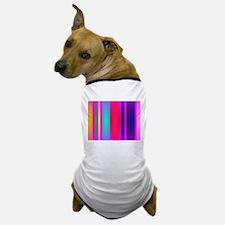 Stripes Art Red Dog T-Shirt