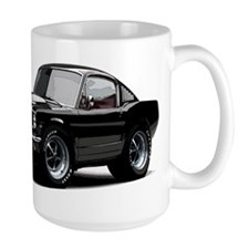 abyAmericanMuscleCar_65_mstg_Xmas_Black Mugs
