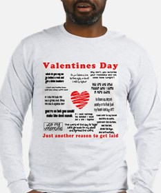 ANTI-VALENTINES DAY Long Sleeve T-Shirt