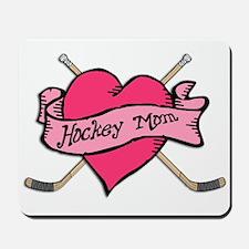 Hockey Valentine for Mom Mousepad