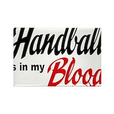 handball Rectangle Magnet