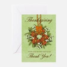Thanksgiving Wreath Greeting Cards (Pk of 20)