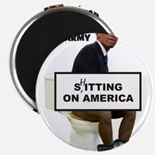 Oh Barmy Sitting On America Magnets