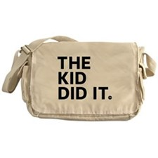 The Kid Did It Messenger Bag