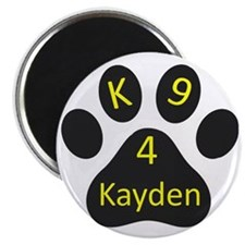 K9~4Kayden Logo Magnet