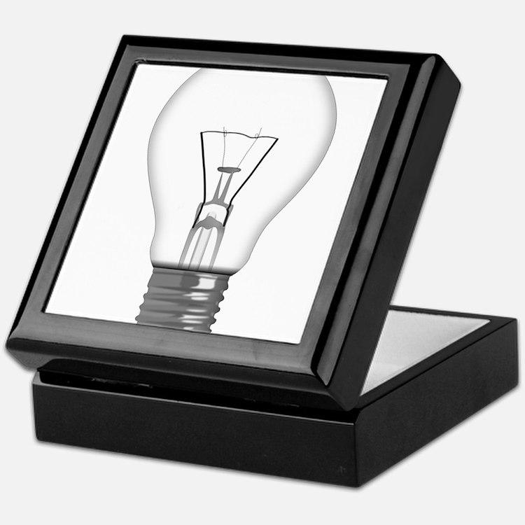 Light Bulb Keepsake Box