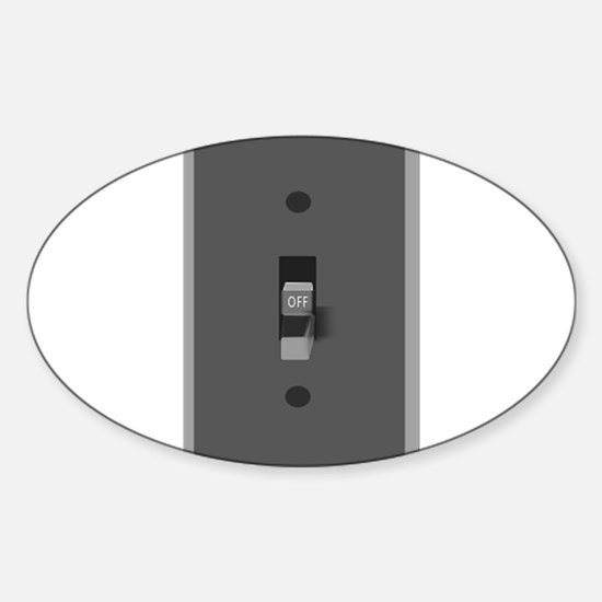 Light Switch Off Decal