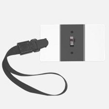 Light Switch On Luggage Tag