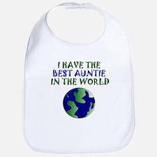 Best Auntie In The World Bib