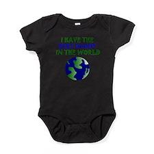 Best Daddy In The World Baby Bodysuit