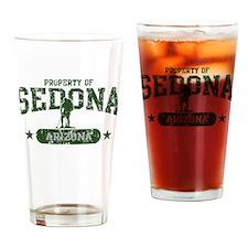 Sedona, AZ Hiker Guy Drinking Glass