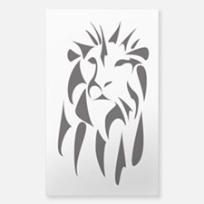 Majestic Lion - Sticker (Rectangle)