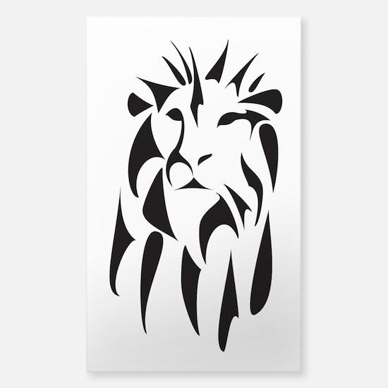 Majestic Lion - Sticker (Rectangle)