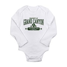Grand Canyon Nat Park Tent Long Sleeve Infant Body