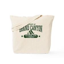 Grand Canyon Nat Park Tent Tote Bag