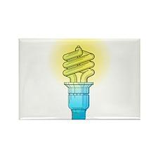 Fluorescent Light Bulb Magnets