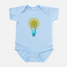 Fluorescent Light Bulb Body Suit