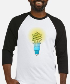 Fluorescent Light Bulb Baseball Jersey