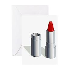 Lipstick Greeting Cards