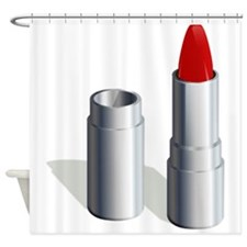 Lipstick Shower Curtain