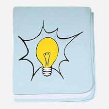 Light Bulb baby blanket