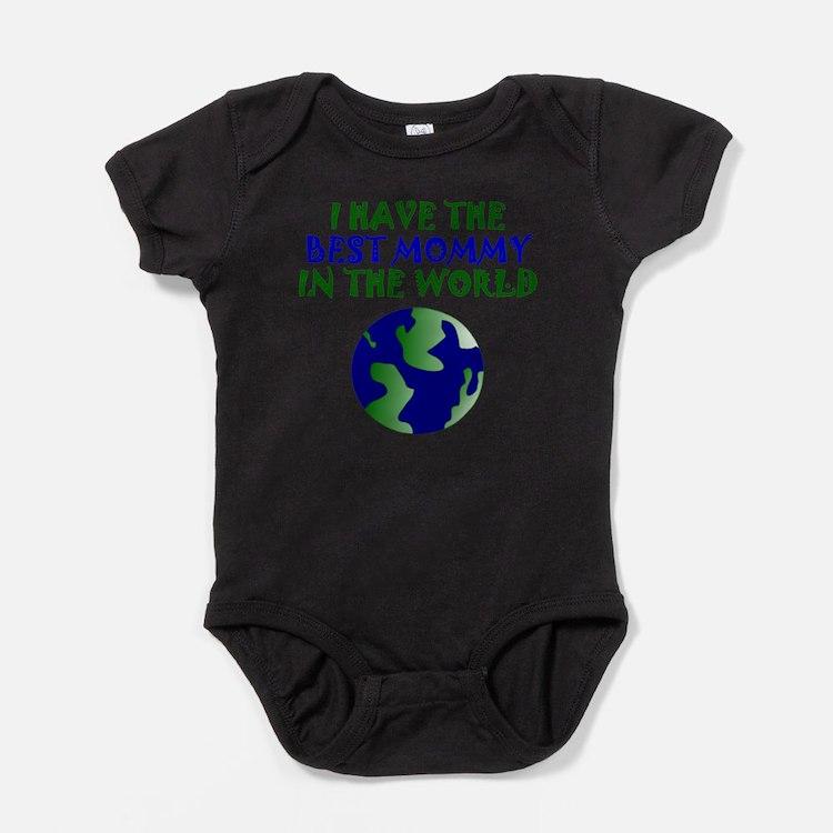 Best Mommy In The World Baby Bodysuit