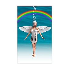 Angel under the Rainbow Decal