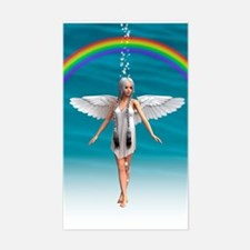 Angel under the Rainbow Decal