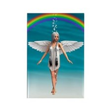 Angel under the Rainbow Magnets