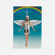 Angel under the Rainbow Magnets
