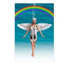 Angel under the Rainbow Postcards (Package of 8)