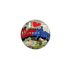 I LOVE COMPTON Mini Button (100 pack)