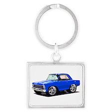 BabyAmericanMuscleCar_66_Nov_Blue Keychains