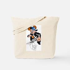 Gangster Rat Tote Bag