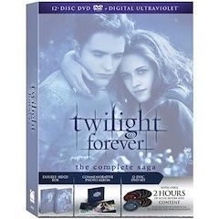Twilight Forever: The Complete Saga Box Set [dvd + Digital Copy + Ultraviolet]