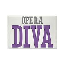 Opera DIVA Rectangle Magnet