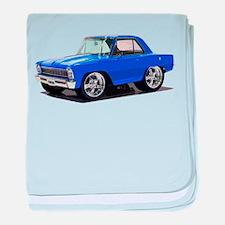 BabyAmericanMuscleCar_66_Nov_Blue baby blanket