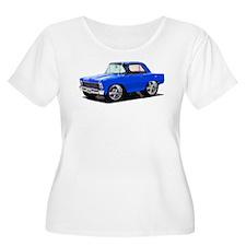 BabyAmericanMuscleCar_66_Nov_Blue Plus Size T-Shir