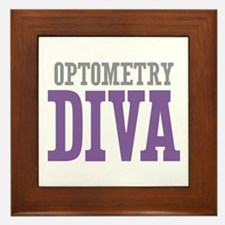 Optometry DIVA Framed Tile